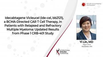 Updated results from the CRB 401 trial Dr. Yi Lin