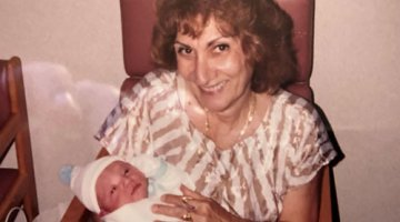 A photo of Grandma Millie