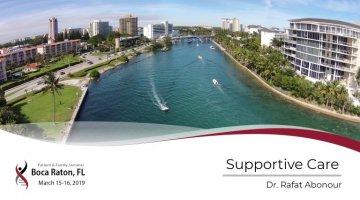2019 Boca Raton PFS: Supportive Care