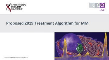 ASH 2018: ASH 2018 Satellite Symposium text with an image of the inside of a cell