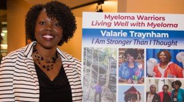 multiple myeloma patient Valarie Traynham