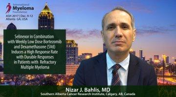 Dr. Nizar Bahlis at the 2017 ASH convention
