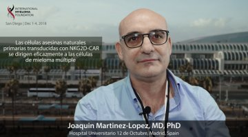 ASH 2018 Dr. Martinez Lopez at ASH Convention