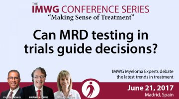 Madrid 2017: Can MRD testing in trials guide decisions?