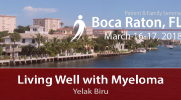 PFS 2018 Living Well with Myeloma
