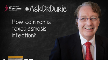 Dr. Durie on toxoplasmosis.