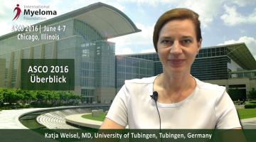 ASCO 2016 by Dr. Katja Weisel