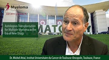 Dr. Michel Attal at ASH 2015