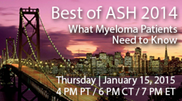 Best of ASH 2014 - What Patients Need to Know