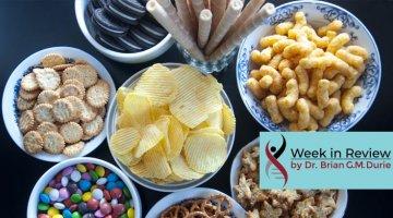 bowl of junk foods
