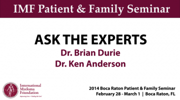 BOCA PNF 2014: Ask The Experts