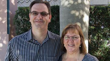 Brett and Brenda Johns