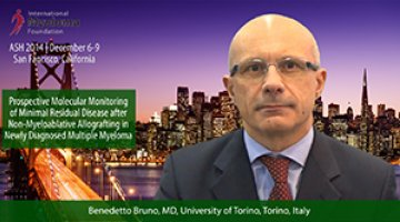 Dr. Benedetto Bruno at ASH convention 2014