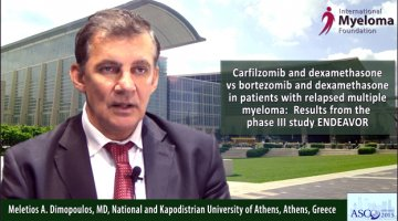 Dr. Meletios Dimopoulos at ASCO 2015
