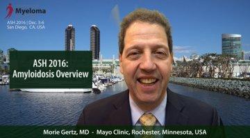 Morie Gertz, MD at ASH 2016