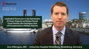 Dr. Hillengass at ASH 2016 convention