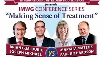 Drs. Durie, Joseph Mikhael,Paul Richardson, and Maria Victoria Mateos at ash 2016