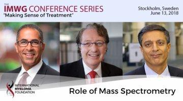 Dr. Brian G.M. Durie,  Dr. Joseph Mikhael and Dr. Sagar Lonial