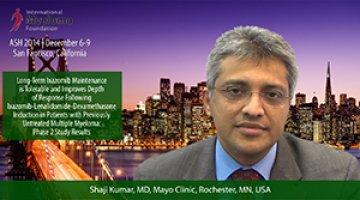 Dr. Shaji Kumar at ASH convention 2014