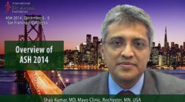 Dr. Shaji Kumar at ASH 2014