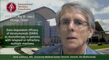 Henk Lokhorst, MD at ASCO convention 2014