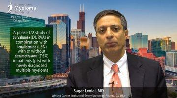 Sagar Lonial, MD at ASCO 2017