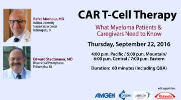 CAR T -Cell Therapy banner