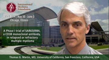 Thomas G. Martin, MD at ASCO 2014