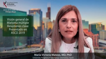 title card for Dr. Maria Victoria Mateos ES overview of ASCO 2019