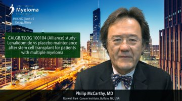 Philip McCarthy, MD at ASCO convention 2017