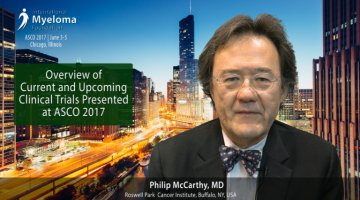 Dr. Philip McCarthy at ASCO convention