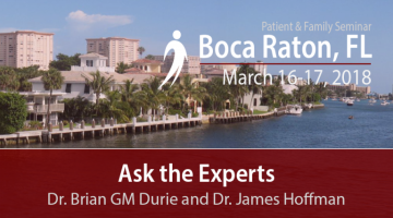 Ask the Experts Dr. Brian GM Durie and Dr. James Hoffman