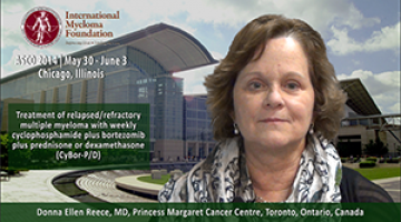 Donna Reece, MD AT ASCO 2014