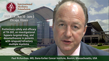 Paul Richardson, MD at ASCO 2014