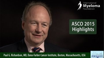 Dr. Paul Richardson at ASCO 2014