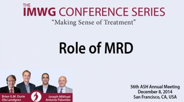 2014 IMWG Conference Series Debate: 56th ASH Annual Meeting