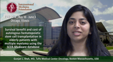 Gunjan L. Shah, MD at ASCO convention 2014