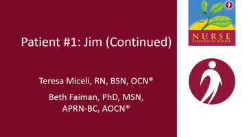 Case Studies #1 (Cont.): Newly Diagnosed MM Treatment, Adherence, Transplantation, Clinical Trials